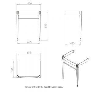Adare Radcliffe basin stand