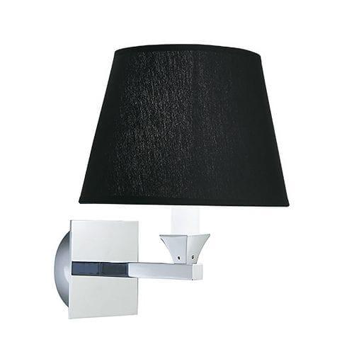 Astoria wall light with ovalplain percaline shade_CP