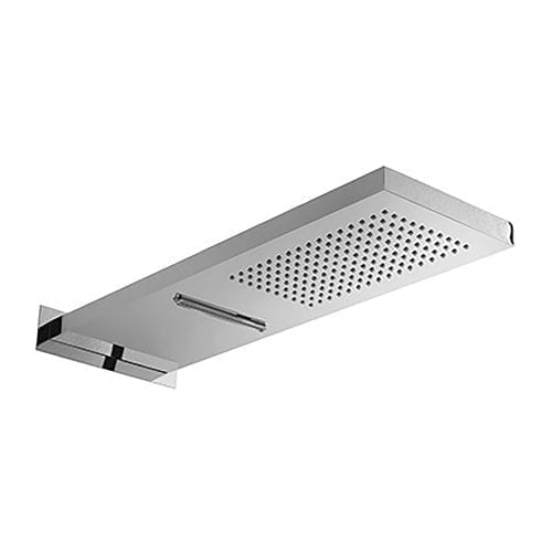 Attica Wall Mounted Drench Shower Head with Rainfall Outlet