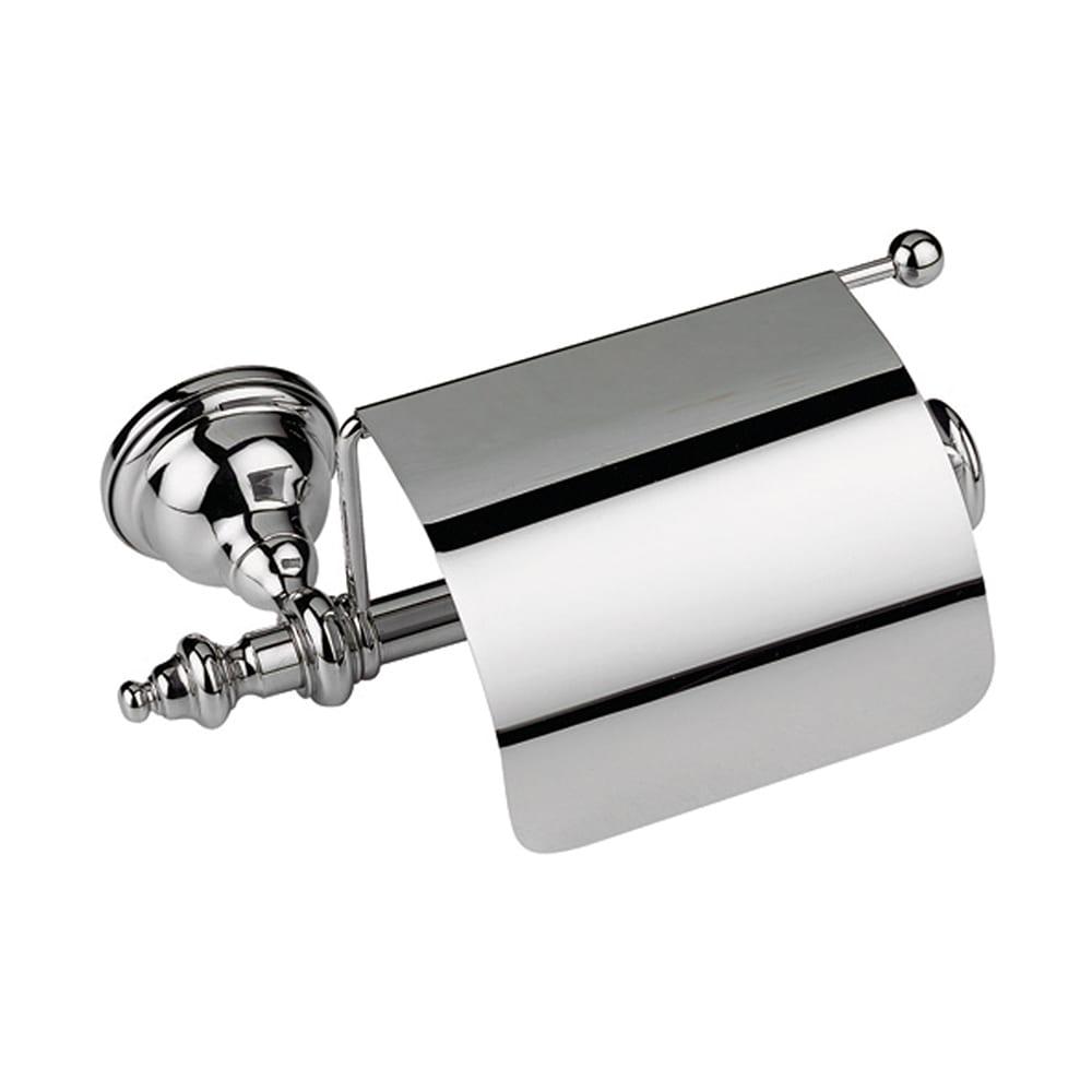Avignon Covered Toilet Roll Holder Chrome