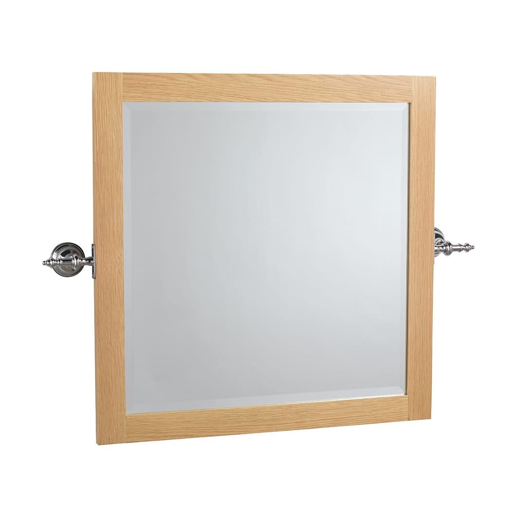 Avignon Tilting Mirror Brackets Chrome