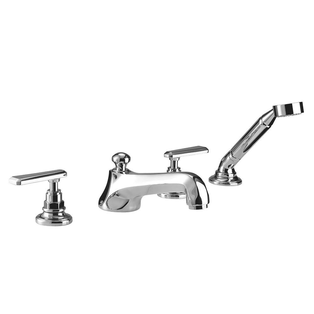 Poulie 4-hole bath filler kit handset