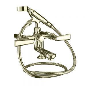Poulie Bath shower mixer kit, deck mounted