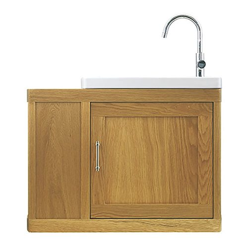 Thurlestone Cloak Offset Vanity Unit R/H