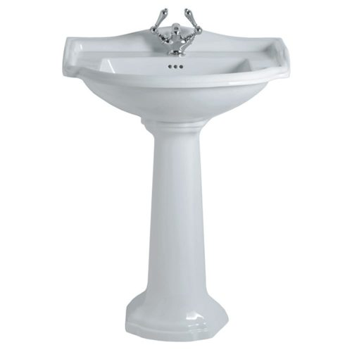 Drift large basin and pedestal