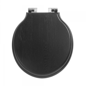 Etoile painted toilet seat with soft-close hinge