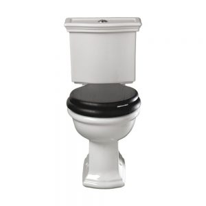 Firenze Close Coupled Toilet & Fittings Push Button