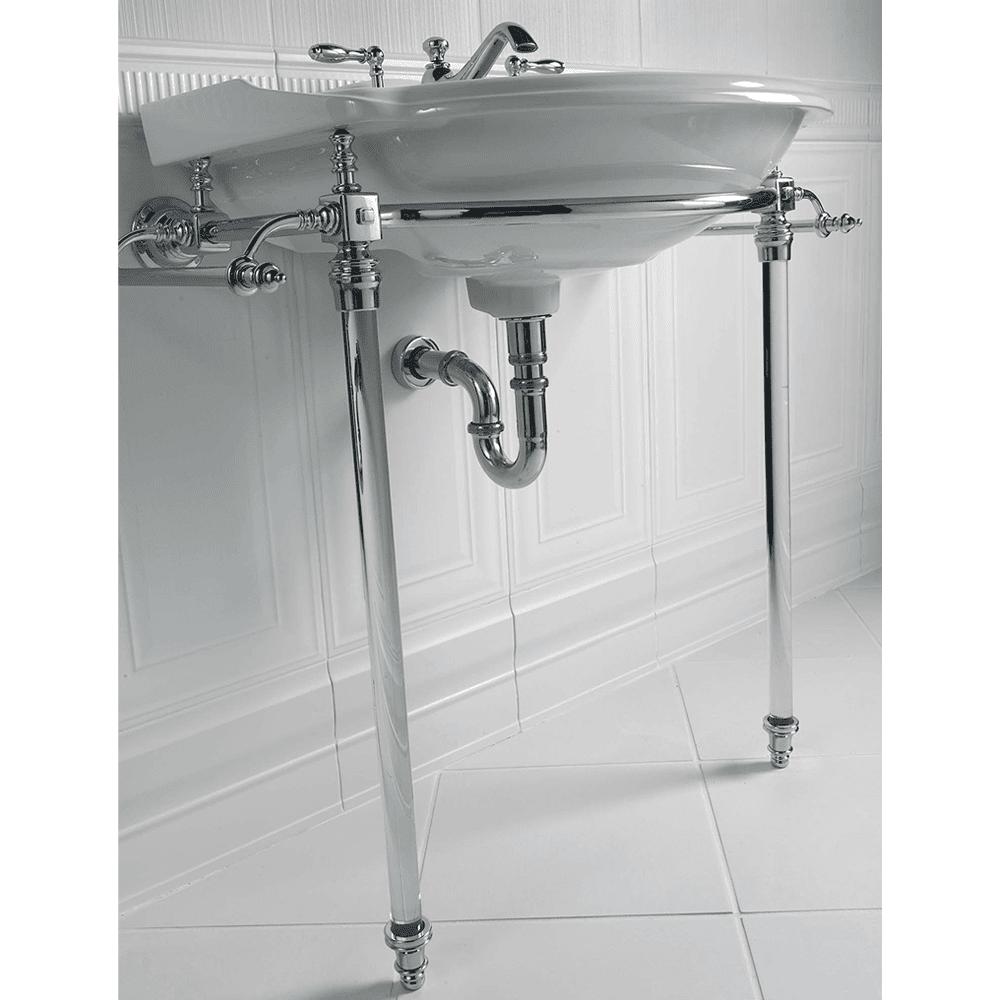 Oxford Hardwick Glass Leg Basin Stand