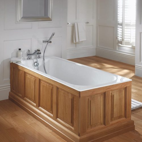 Harrington single ended cast iron bath