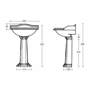 Oxford pedestal