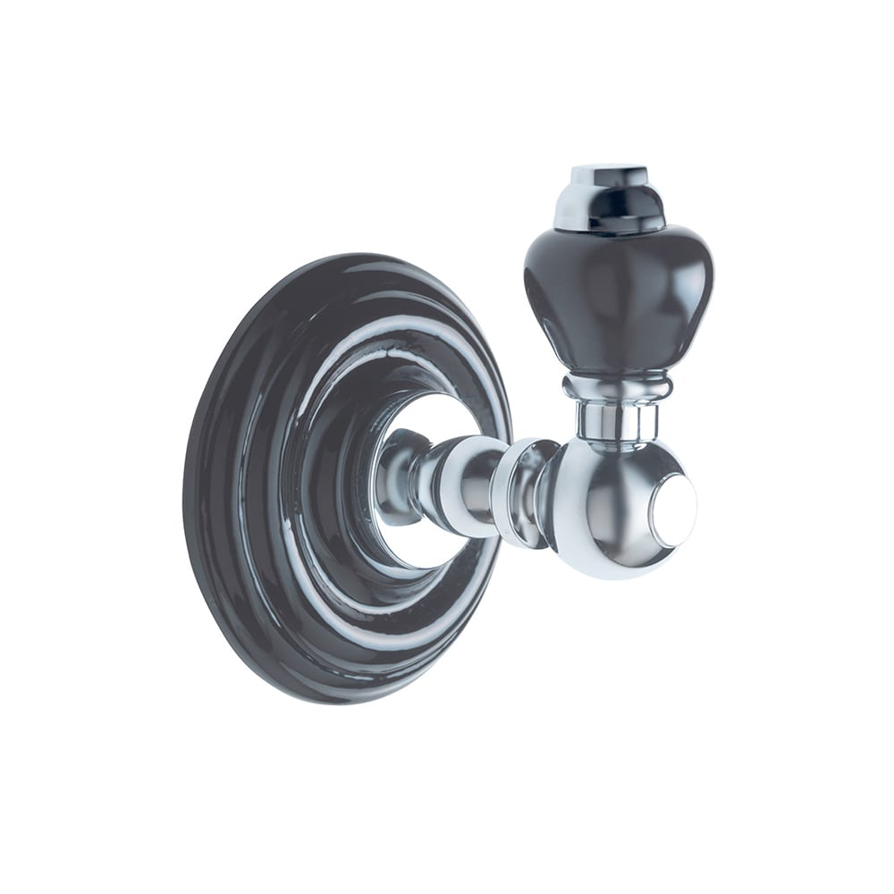 Oxford wall mounted robe hook chrome