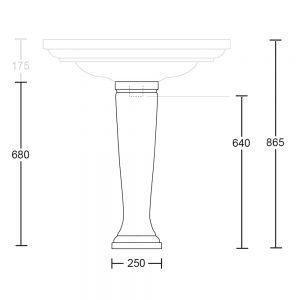 Radcliffe Pedestal