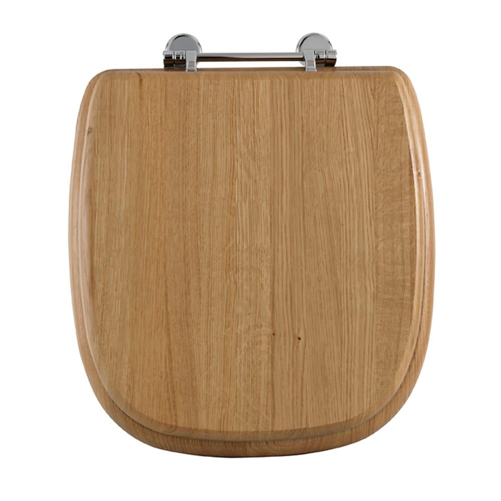 Radcliffe Oak toilet seat