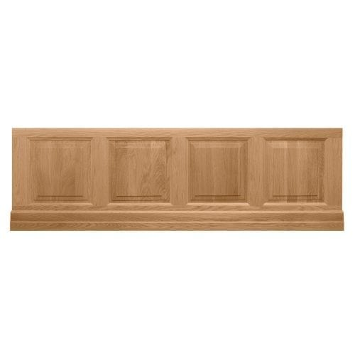 Raised and Fielded bath front panel – oak