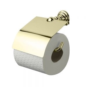 Richmond Covered Toilet Paper Holder Antique Gold