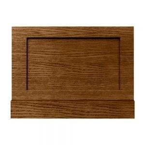 Thurlestone bath end panel in dark oak