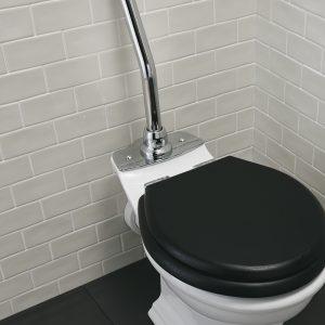 Firenze high level toilet brass chrome plate option