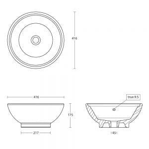 vessel bowl tech specs